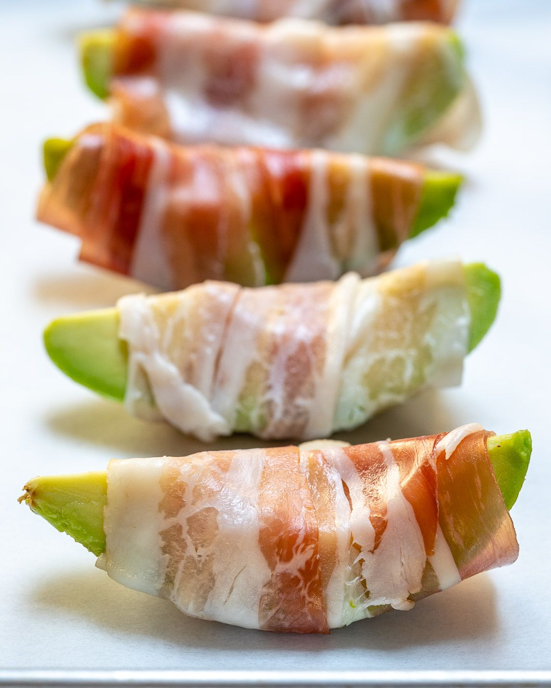 BACON WRAPPED AVOCADO FRIES #avocado #healthydiet #bacon #dietketo #kategonic