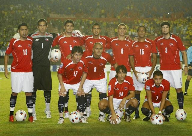 Formación de Chile ante Brasil, Clasificatorias Sudáfrica 2010, 9 de septiembre de 2009