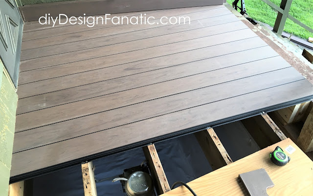 Deckorators, deck, composite decking, porch, fastendry, mountain cottage, cottage style, deck, porch, deck rails