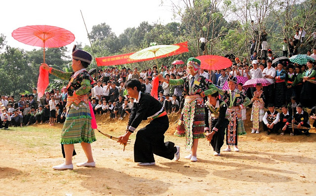 Traditional festivals in Sapa Lao Cai 5