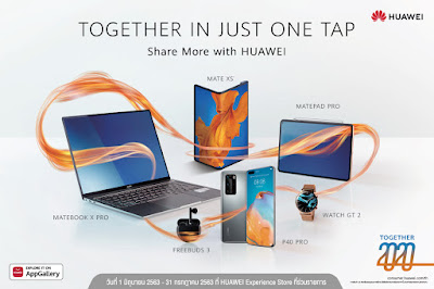 Huawei ยกทัพผลิตภัณฑ์ปล่อยโปรโมชั่นกลางปีสุดคุ้ม จัดเต็มโปรสมาร์ทโฟนและแท็บเล็ตรุ่นยอดฮิต พร้อมของแถมและสิทธิพิเศษมากมาย อย่าพลาด! ตั้งแต่วันนี้ถึง 31 กรกฎาคมนี้เท่านั้น