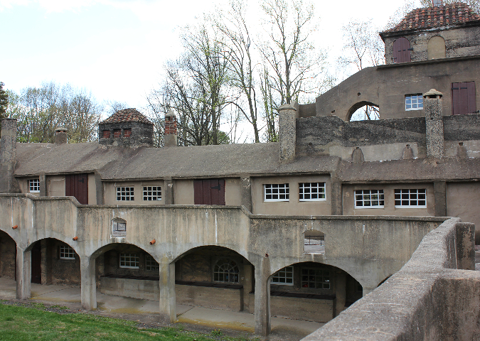 the moravian pottery and tile works