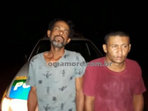Vítima de furto vai à procura de ladrões e os encontra sendo abordados pela PM