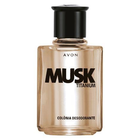 Colônia Desodorante Musk Titanium - 90ml