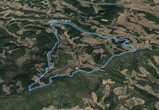 Recorregut: Montblanquet-Tossal Gros de Vallbona (El repte dels 100 cims)