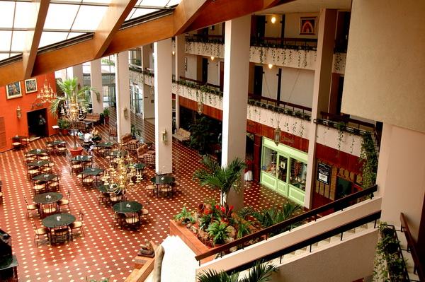 Hotel Copantl Honduras San Pedro Sula La Posada Restaurante