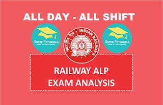 RRB ALP Exam Analysis 2018 All Shift