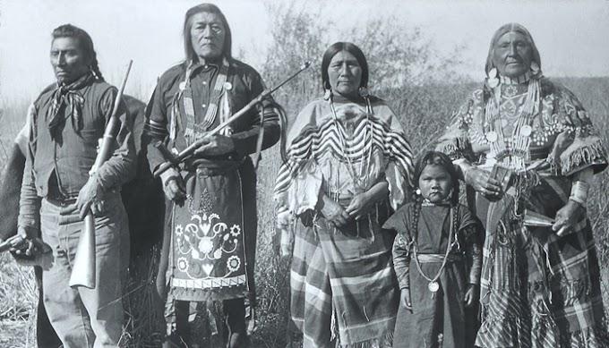 Suku Asli Amerika Yang Terusir Dari Tanahnya Sendiri