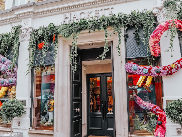 Chelsea in Bloom 2019 Hackett London