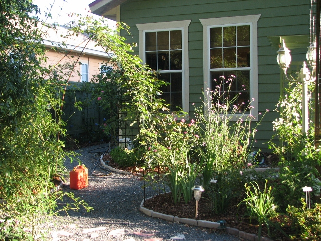If Only Sweat Were Irrigation...: Back Garden Eyesore