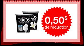 Coupon Oikos - yogurt grec