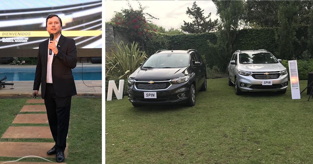 Chevrolet Lanz La Spin Restyling Y Anunciaron Un Auto Elctrico