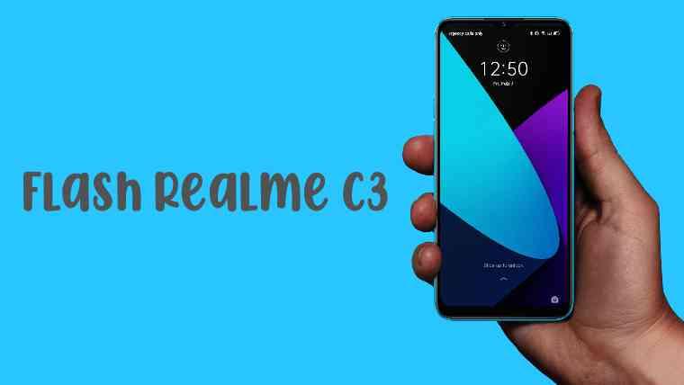 Flashing Realme C3