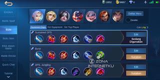 Emblem & Build Ling's sickest and strongest mobile legend