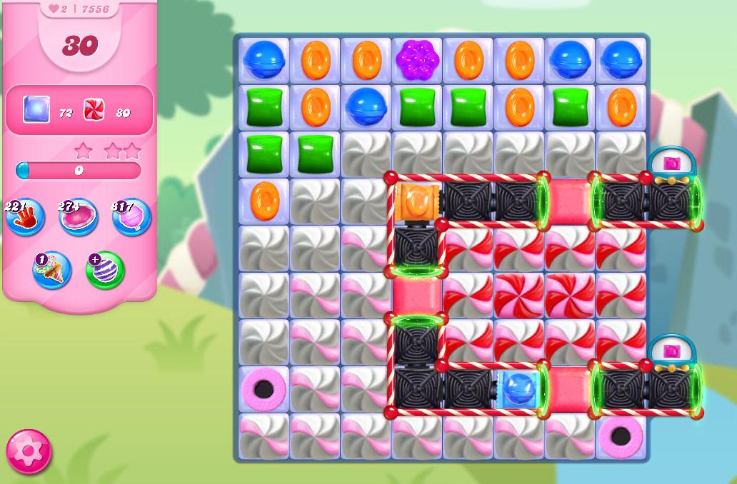 Candy Crush Saga level 7556