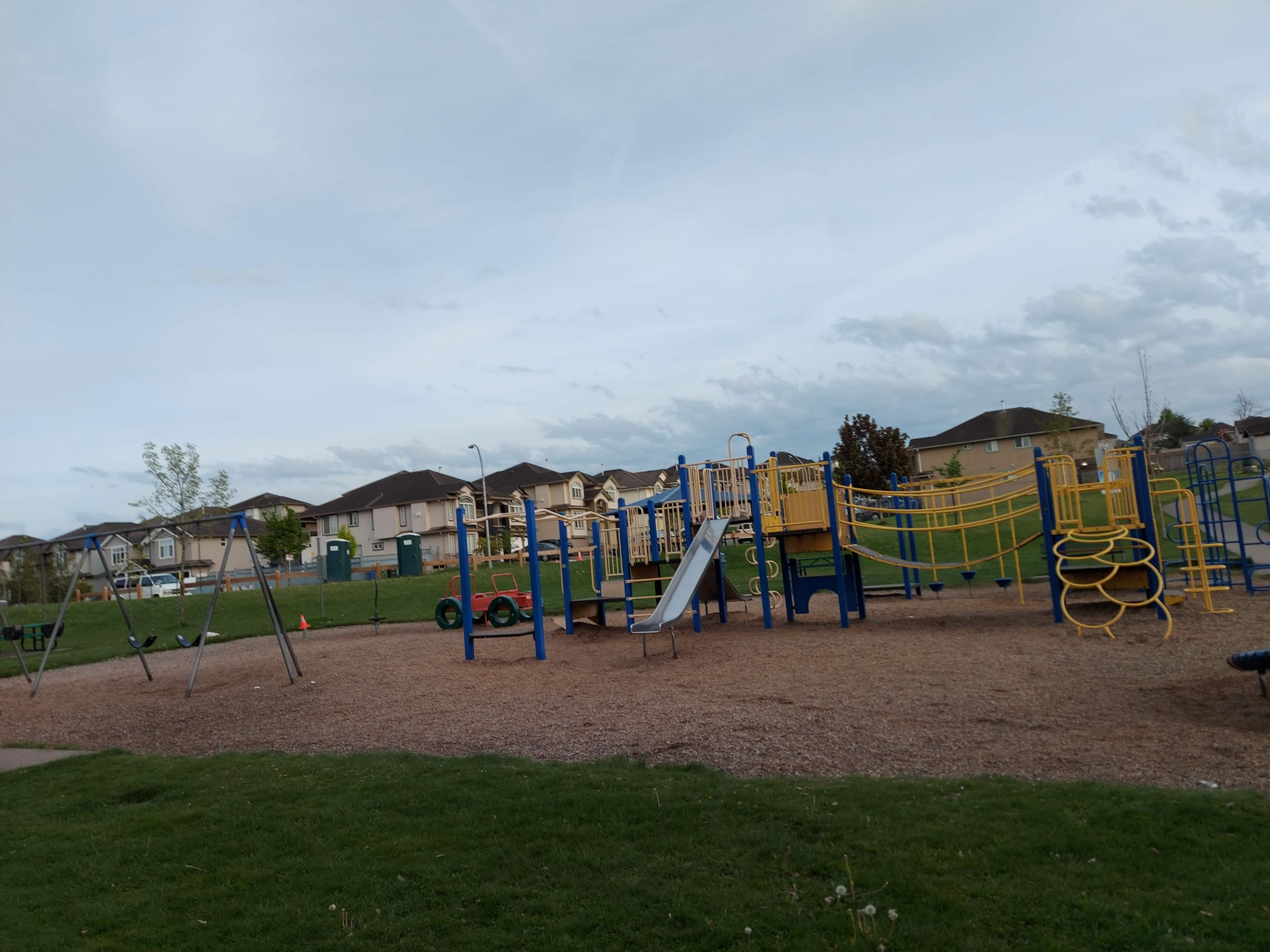Playground by the discovery trail