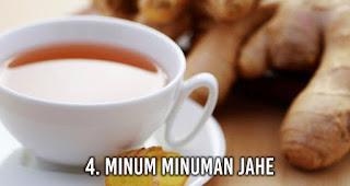 Minum minuman Jahe untuk Sembuhkan mabuk perjalanan