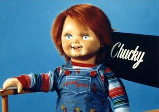Photo de la poupée Chucky utilisée dans le 1er film