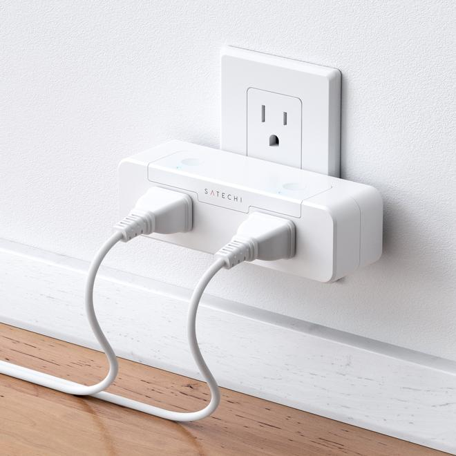 Satechi's First HomeKit Product 'Dual Smart Outlet' Cleverly
