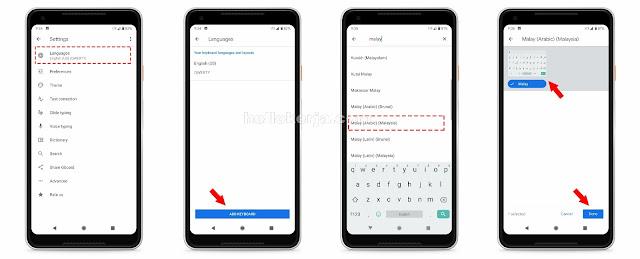 Cara Tulis Tulisan Jawi Untuk Pengguna Android