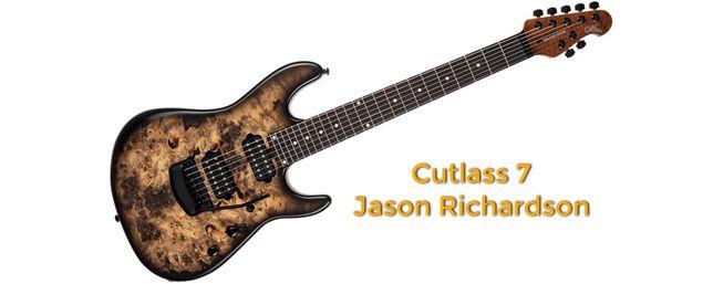 Ernie Ball Music Man Cutlass Jason Richardson