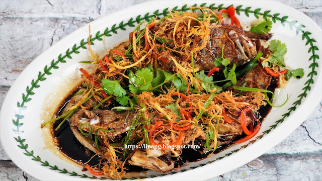 ikan masak halia, ikan goreng kicap simple, ikan goreng halia mudah dan sedap, ikan masak kicap chinese style, resepi ikan mudah dan sedap,