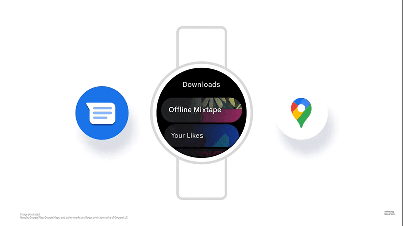Google Apps to arrive on Galaxy Watches through One UI Watch!
