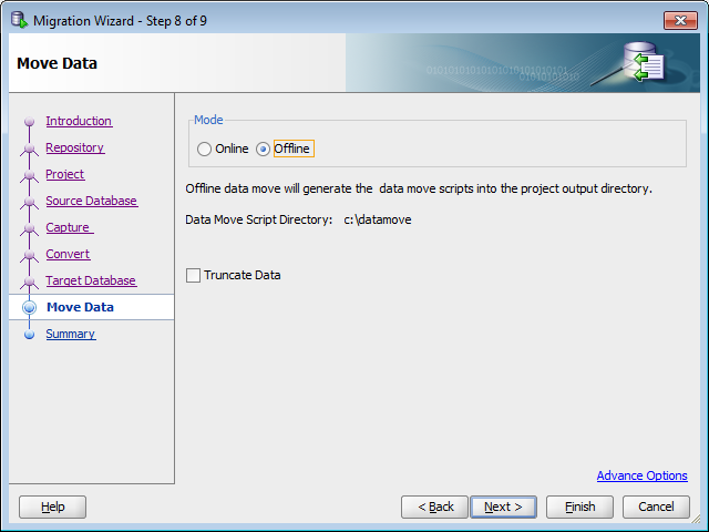 Sybase and SQL Server Image Data Move