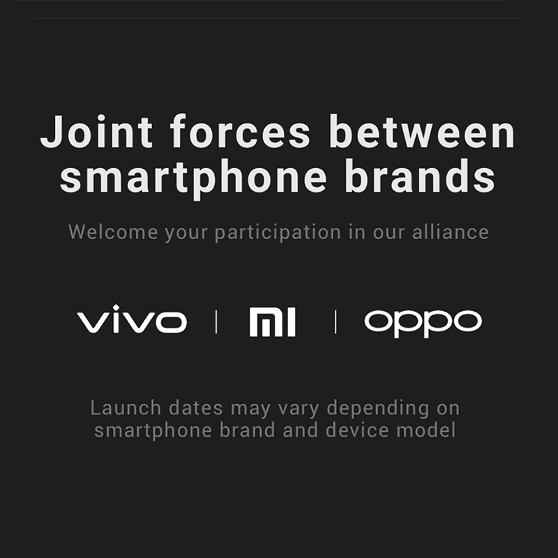 It will be available on Vivo, OPPO, and Xiaomi devices soon