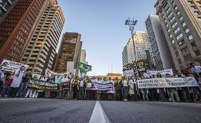 Protesto na Avenida Paulista - SP- 13/07/2013.