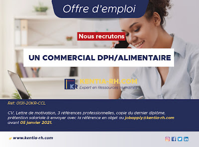 Commercial Dph/Alimentaire