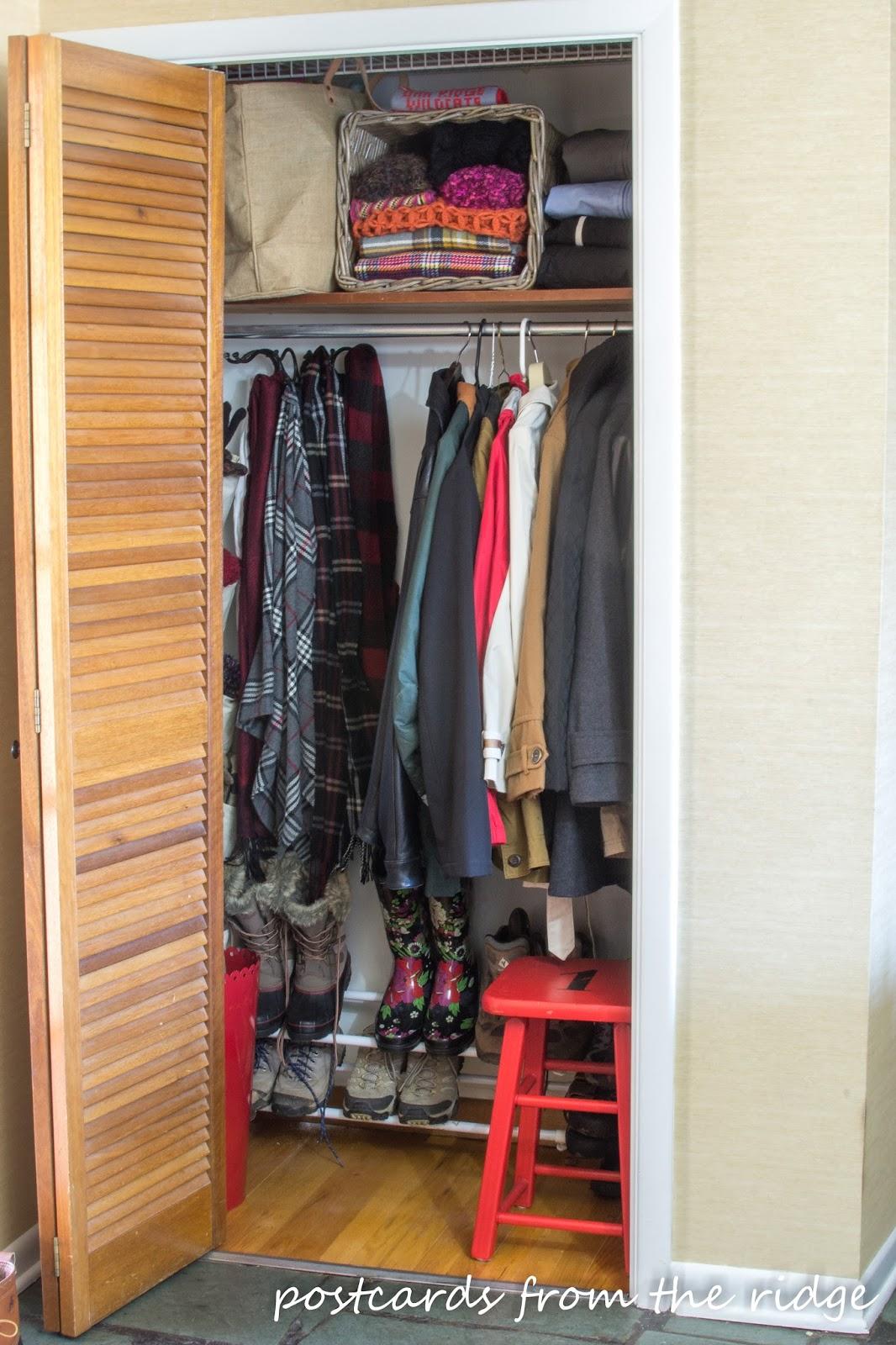 Small Coat Closet Organization Ideas Part - 21: Coat Closet Organization
