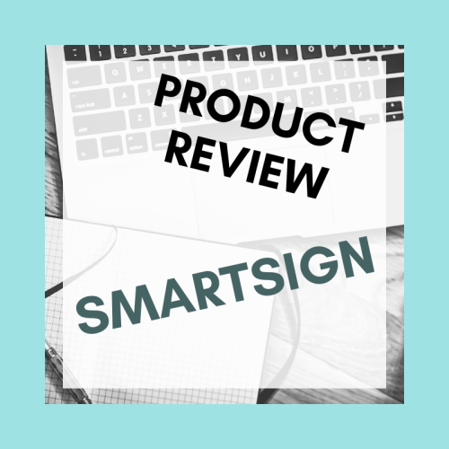 Product review for SmartSign's 10 x 14 inch custom sign