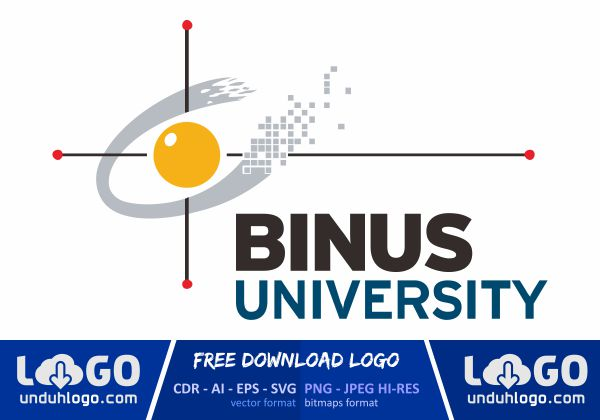 logo binus university download vector cdr ai png logo binus university download vector