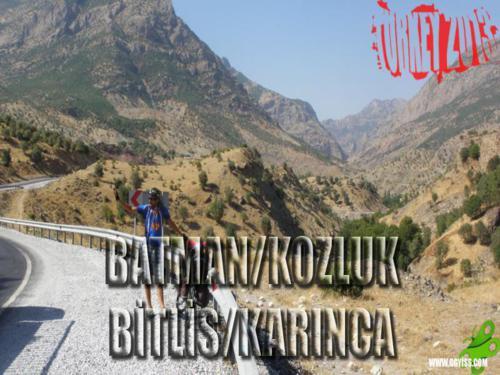 2013/08/25 Turkey2013 41. Gün (Batman/Kozluk - Bitlis/Karınca)