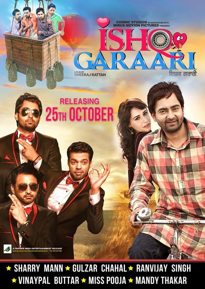 Ishq Garaari 2013 Punjabi Movie 720p HDRip 750MB Download