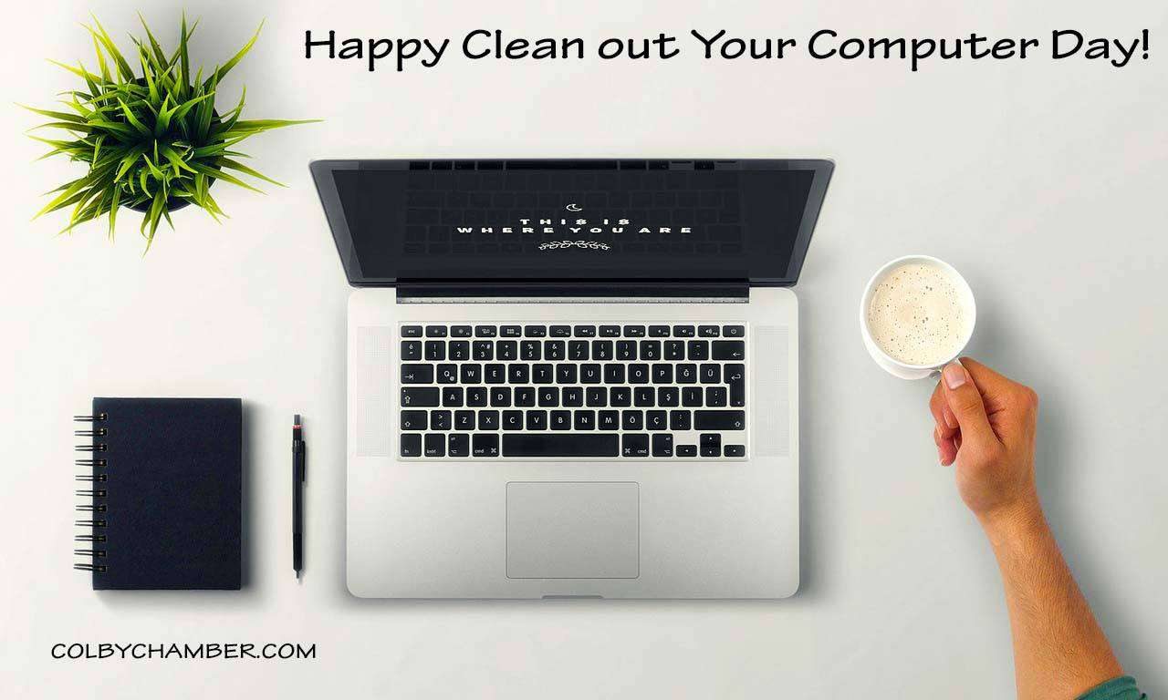 National Clean Out Your Computer Day Wishes Unique Image