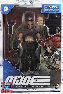 G.I. Joe Classified Series Zartan Box 01