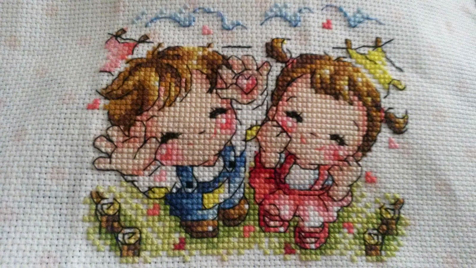 Justines Cross Stitch Crazy January Challenge 6-6630