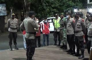 Pengamanan Ops Ketupat Semeru Di Pos Pam Gelaser Bersama Polsek Wonomerto