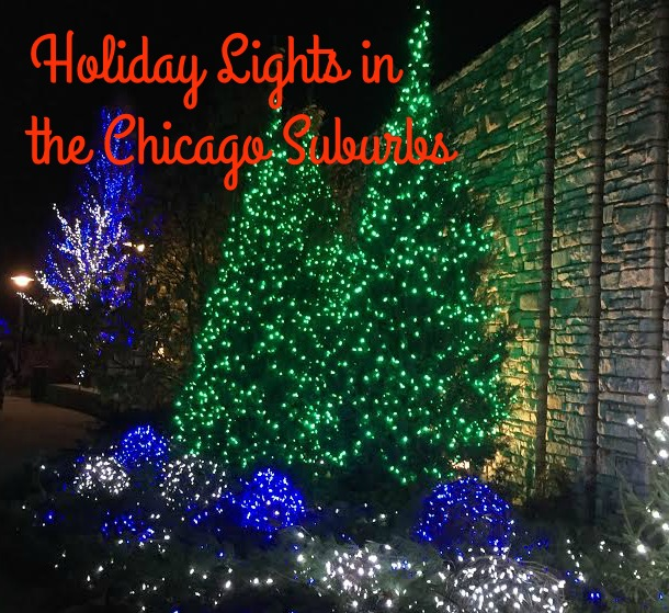 Holiday Light Displays in the Chicago Suburbs