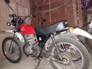 Lapak Trail Jadul Honda XL125 Tahun 77