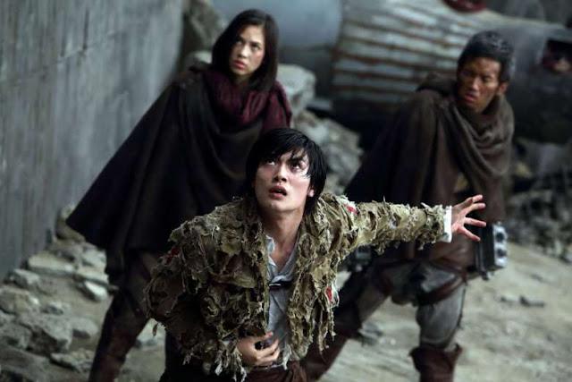 haruma miura sebagai eren di film attack on titan