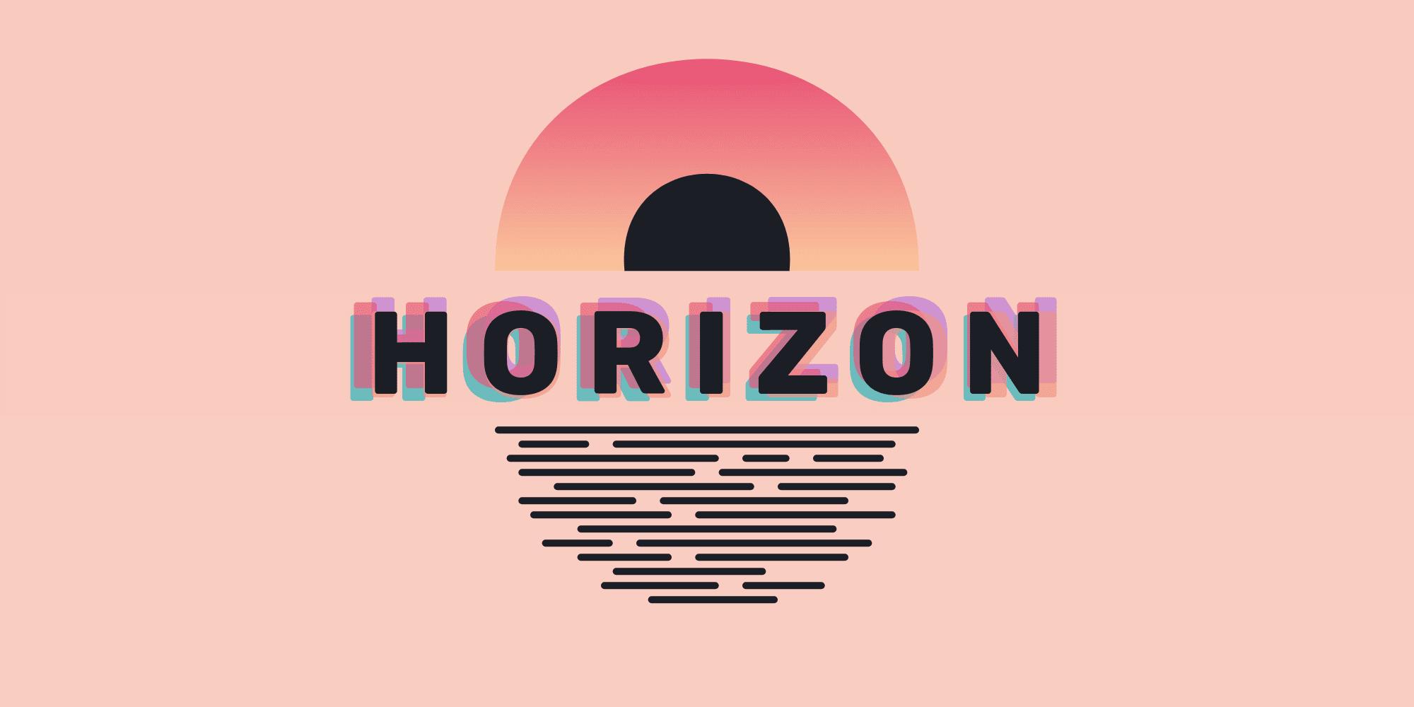 horizon theme in vs code 2021