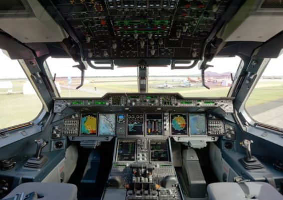 Airbus A400M cockpit
