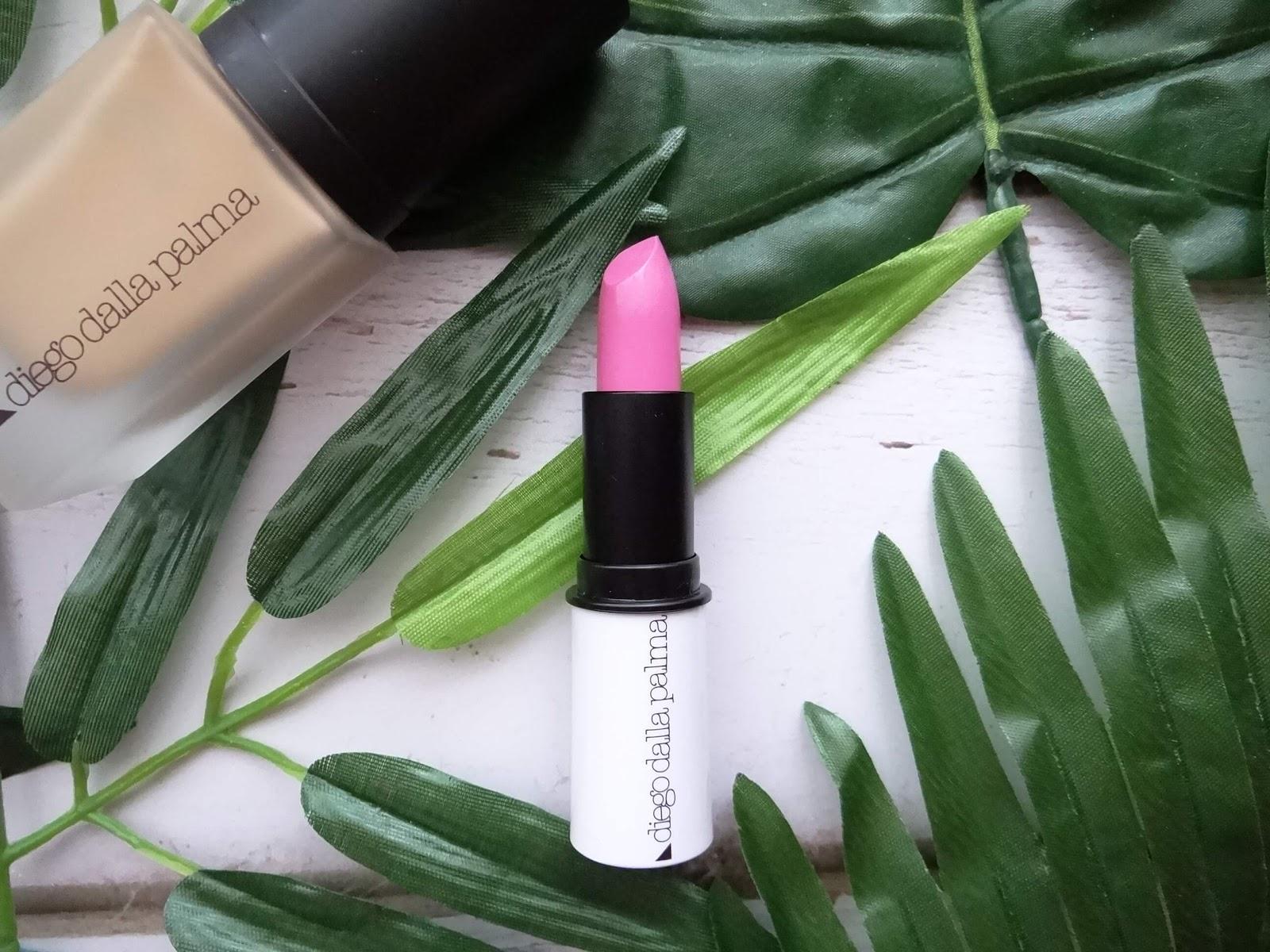 diego dalla palma Shade of Purple Lipstick Rosa Chic