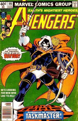 Avengers #196, the Taskmaster