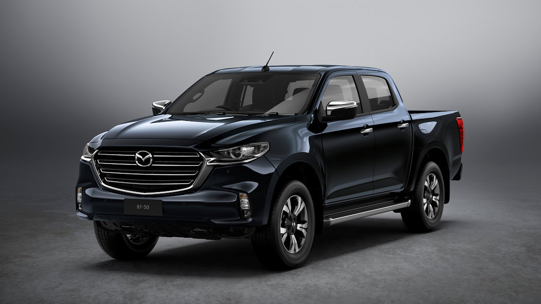 this is the 2021 mazda bt50  carguideph  philippine