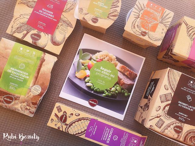 Mi dieta con Dietbon | Comida sana a domicilio lista para comer.