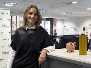 Lupina Iturriaga, CEO de Fintonic. EFE/José Carlos Pedrouzo